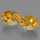thumb image of 6.4ct Oval Facet Yellow Golden Citrine (ID: 433906)