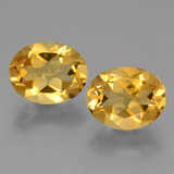 thumb image of 4.9ct Oval Facet Yellow Golden Citrine (ID: 433909)