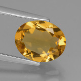 thumb image of 1.9ct Oval Facet Yellow Golden Citrine (ID: 433957)