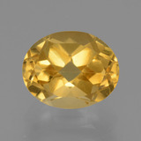 thumb image of 2.6ct Oval Facet Yellow Golden Citrine (ID: 433962)