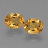 thumb image of 4.8ct Oval Facet Yellow Golden Citrine (ID: 433980)