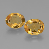 thumb image of 4.3ct Oval Facet Yellow Golden Citrine (ID: 433985)