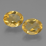 thumb image of 2.2ct Oval Facet Yellow Golden Citrine (ID: 434017)