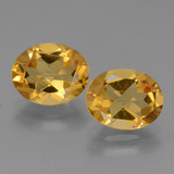 thumb image of 2.2ct Oval Facet Yellow Golden Citrine (ID: 434020)