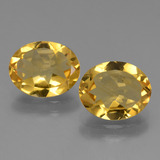 thumb image of 4.1ct Oval Facet Yellow Golden Citrine (ID: 434021)