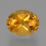 thumb image of 2.9ct Oval Facet Yellow Golden Citrine (ID: 434049)