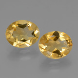 thumb image of 4.6ct Oval Facet Yellow Golden Citrine (ID: 434054)