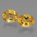 thumb image of 4.4ct Oval Facet Yellow Golden Citrine (ID: 434056)