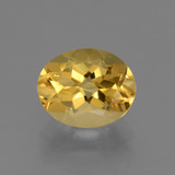 thumb image of 2.5ct Oval Facet Yellow Golden Citrine (ID: 434122)
