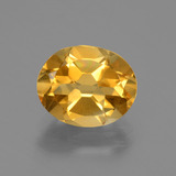 thumb image of 2.4ct Oval Facet Yellow Golden Citrine (ID: 435336)