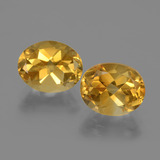 thumb image of 5ct Oval Facet Yellow Golden Citrine (ID: 435371)