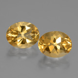 thumb image of 5ct Oval Facet Yellow Golden Citrine (ID: 435509)
