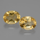 thumb image of 4.6ct Oval Facet Yellow Golden Citrine (ID: 435512)