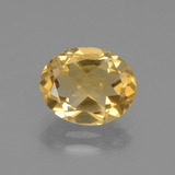 thumb image of 2.1ct Oval Facet Yellow Golden Citrine (ID: 435659)