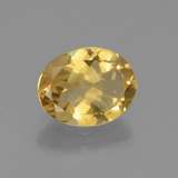 thumb image of 2.1ct Oval Facet Yellow Golden Citrine (ID: 435660)
