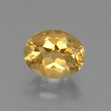 thumb image of 2.4ct Oval Facet Yellow Golden Citrine (ID: 435665)
