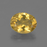 thumb image of 2.2ct Oval Facet Yellow Golden Citrine (ID: 435754)