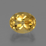 thumb image of 2.6ct Oval Facet Yellow Golden Citrine (ID: 435760)