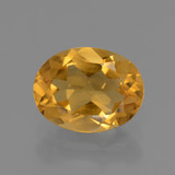 thumb image of 1.8ct Oval Facet Yellow Golden Citrine (ID: 435842)