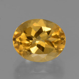 thumb image of 2.7ct Oval Facet Yellow Golden Citrine (ID: 435847)