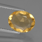 thumb image of 1.6ct Oval Facet Yellow Golden Citrine (ID: 439391)