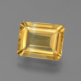 thumb image of 2.7ct Octagon Facet Yellow Golden Citrine (ID: 439607)