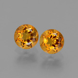thumb image of 1ct Round Facet Yellow Golden Citrine (ID: 440698)