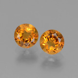 thumb image of 1ct Round Facet Yellow Golden Citrine (ID: 440699)
