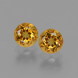 thumb image of 1ct Round Facet Yellow Golden Citrine (ID: 440700)