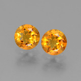 thumb image of 0.9ct Round Facet Yellow Golden Citrine (ID: 440703)
