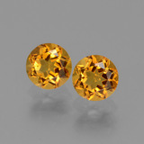 thumb image of 0.9ct Round Facet Yellow Golden Citrine (ID: 440706)