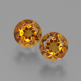 thumb image of 1ct Round Facet Yellow Golden Citrine (ID: 441034)