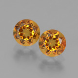 thumb image of 0.9ct Round Facet Yellow Golden Citrine (ID: 441035)