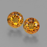 thumb image of 0.9ct Round Facet Yellow Golden Citrine (ID: 441044)