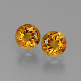 thumb image of 1ct Round Facet Yellow Golden Citrine (ID: 441088)