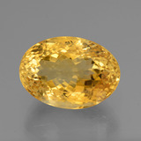 thumb image of 19.7ct Oval Facet Yellow Golden Citrine (ID: 443587)