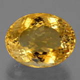 thumb image of 20.5ct Oval Portuguese-Cut Yellow Golden Citrine (ID: 444019)