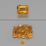 thumb image of 1.2ct Octagon Facet Yellow Golden Citrine (ID: 444338)