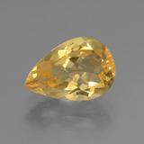 thumb image of 2.3ct Pear Facet Yellow Golden Citrine (ID: 445286)