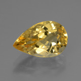 thumb image of 3ct Pear Facet Yellow Golden Citrine (ID: 445287)