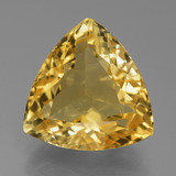 thumb image of 7ct Trillion Facet Yellow Golden Citrine (ID: 445367)