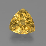 thumb image of 3.8ct Trillion Facet Yellow Golden Citrine (ID: 445453)