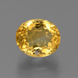 thumb image of 4.9ct Oval Facet Yellow Golden Citrine (ID: 445708)