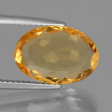 thumb image of 4.6ct Oval Facet Yellow Golden Citrine (ID: 445752)