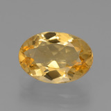 thumb image of 2.5ct Oval Facet Yellow Golden Citrine (ID: 445864)