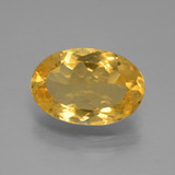 thumb image of 2.6ct Oval Facet Yellow Golden Citrine (ID: 445908)