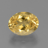 thumb image of 3.5ct Oval Facet Yellow Golden Citrine (ID: 445933)