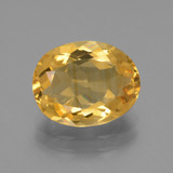 thumb image of 3.1ct Oval Facet Yellow Golden Citrine (ID: 445942)