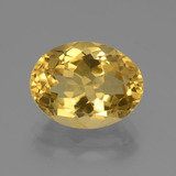 thumb image of 4.3ct Oval Facet Yellow Golden Citrine (ID: 446067)