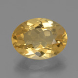 thumb image of 2.8ct Oval Facet Yellow Golden Citrine (ID: 446142)